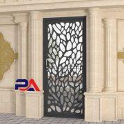 درب فلزی ورودی ساختمان | صنایع فلزی پایون