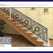 نرده فلزی لوکس | صنایع فلزی پایون