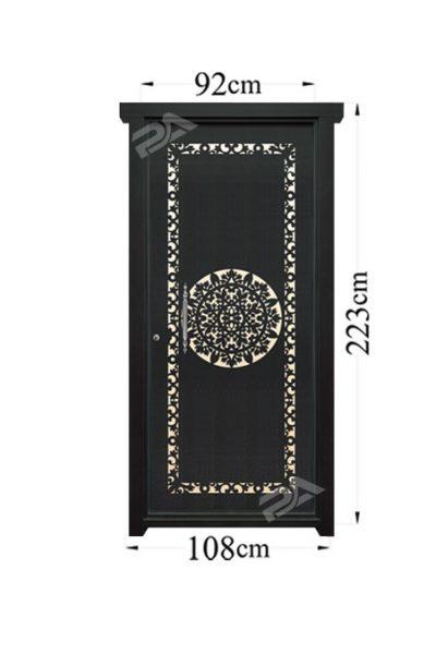 درب فلزی مدل ۰۸۷ تک لنگه پایون