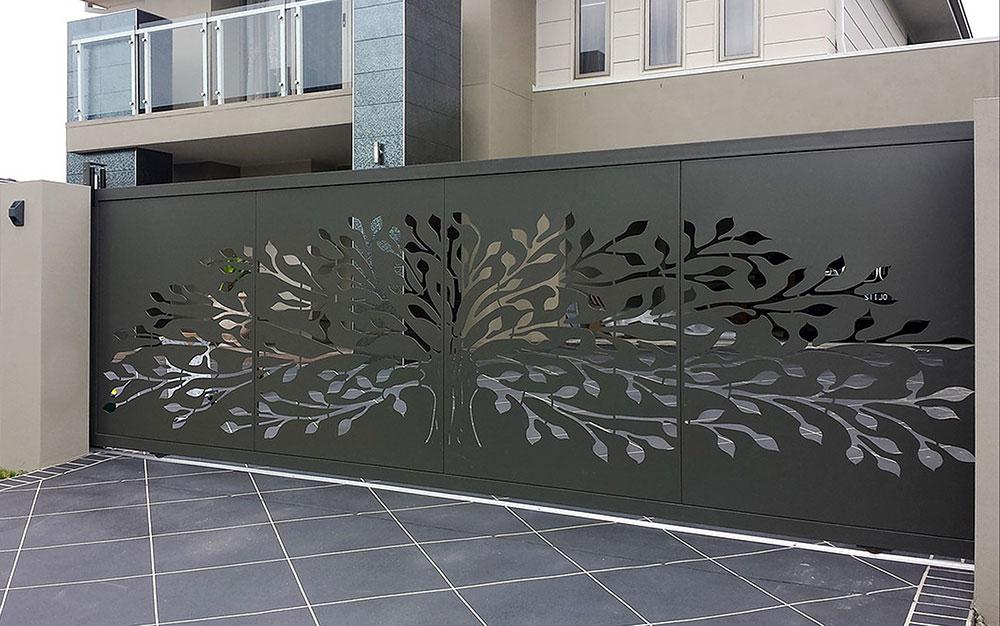 درب مدرن حیاط