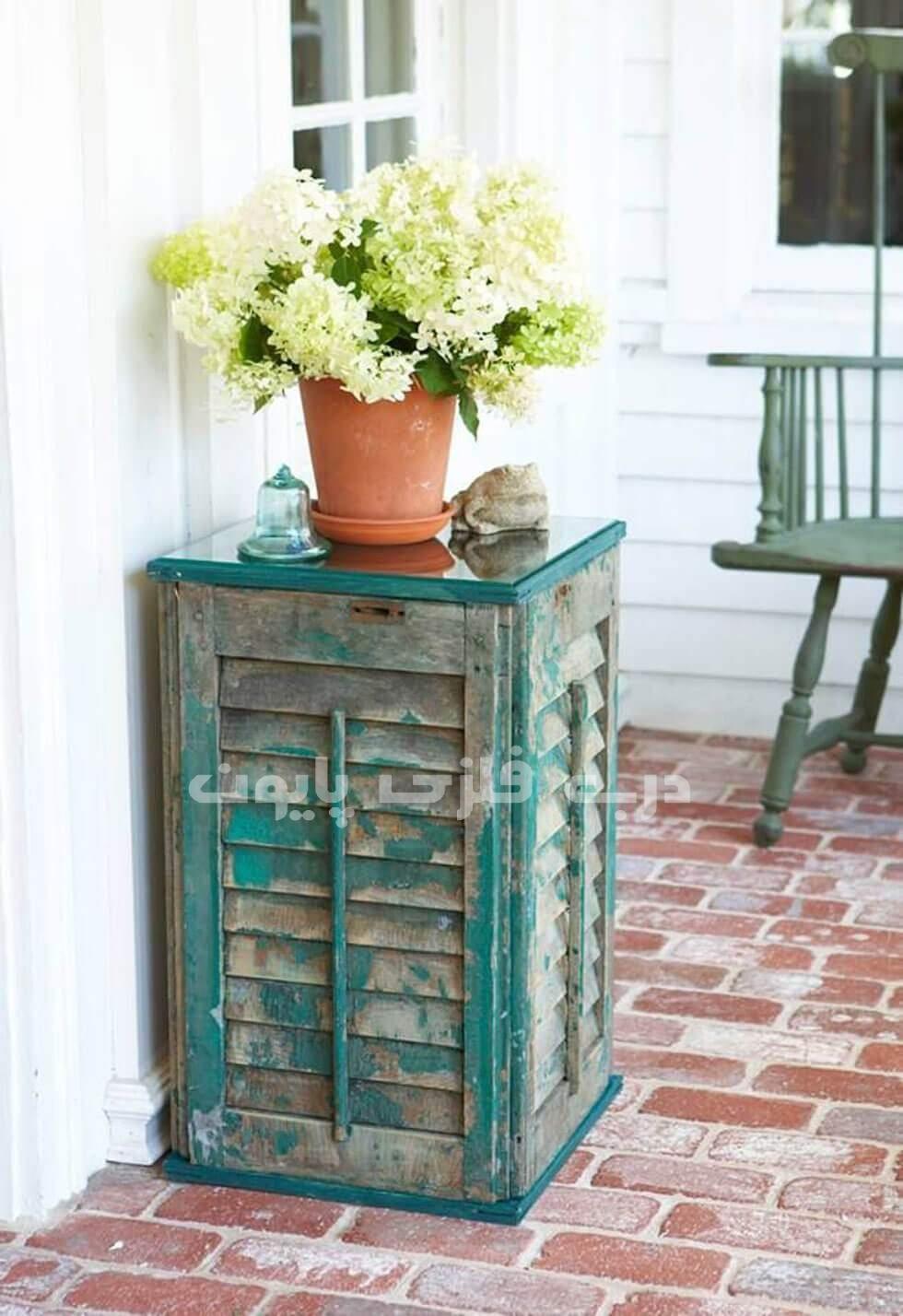 بازیافت درب های قدیمی