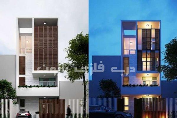 نمای ساختمان با حاشیه کم با ۲۰ طراحی جذاب و منحصربفرد