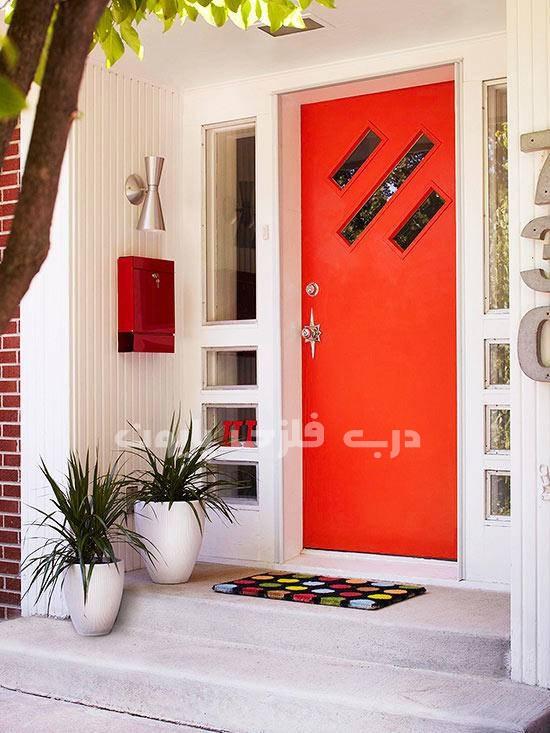 ترکیب رنگ درب ورودی منزل