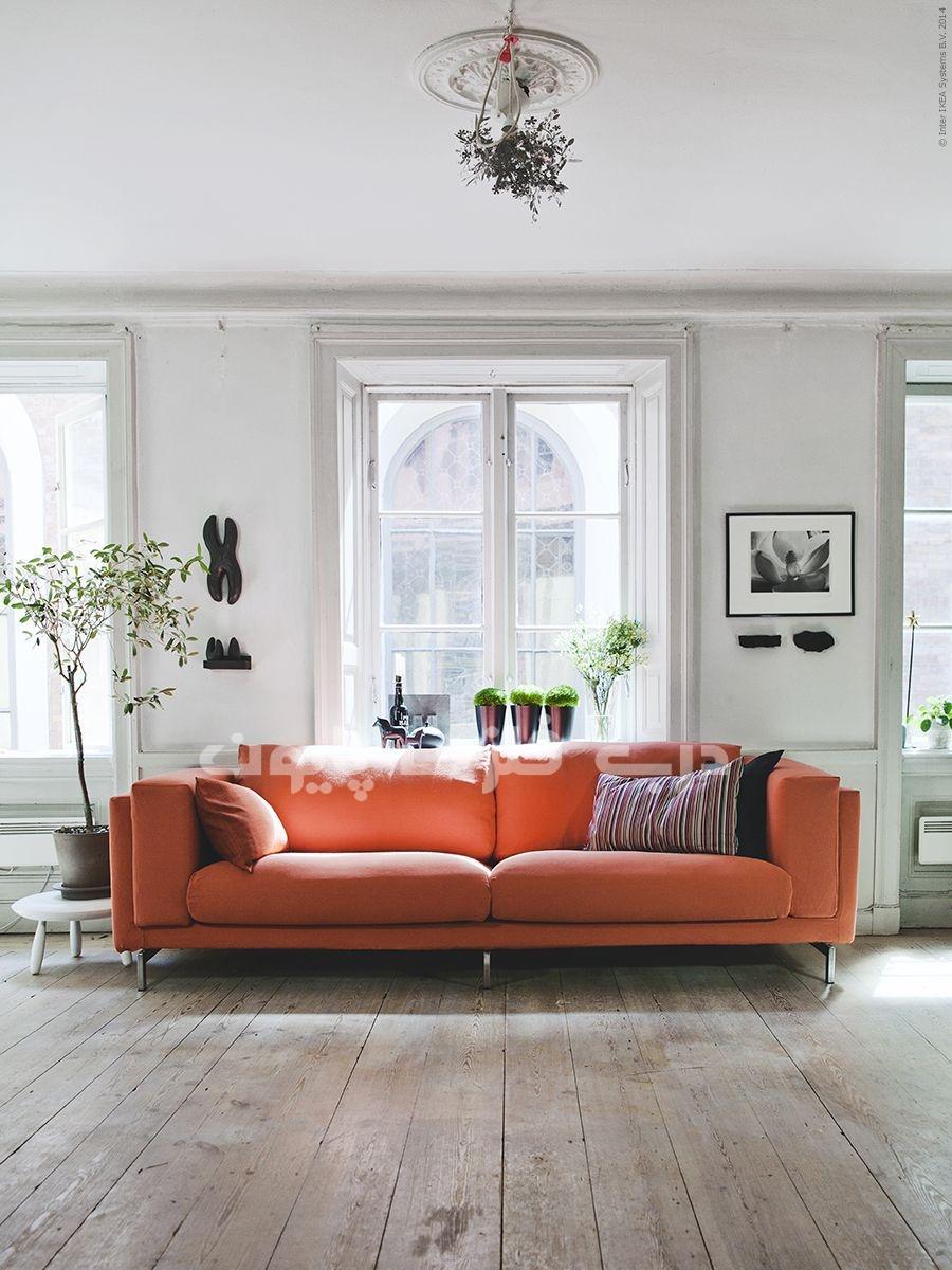رنگ مرجانی در وسایل خانه