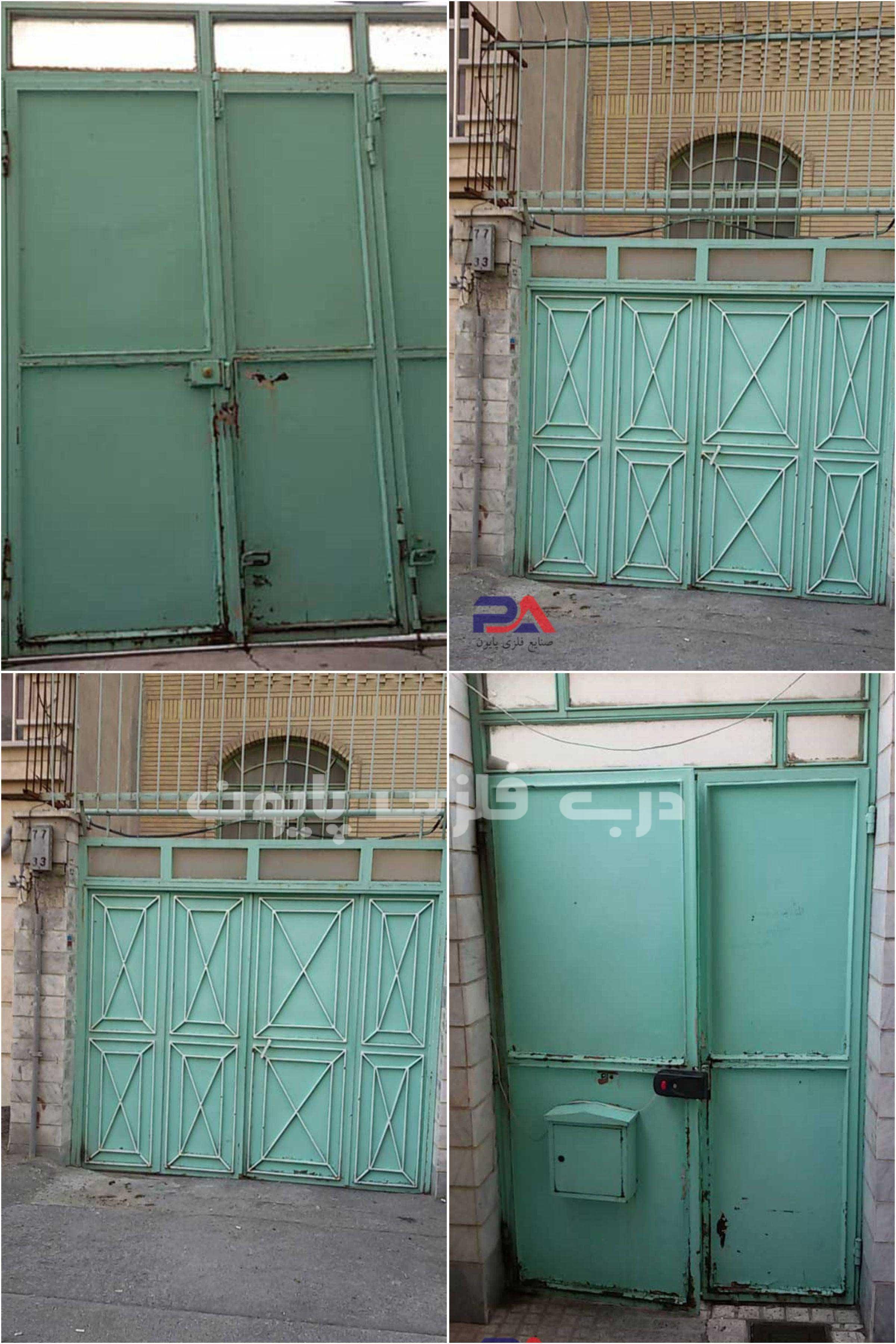 تعویض درب ورودی ساختمان