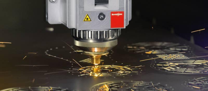 فناوری برش لیزری در صنایع فلزی
