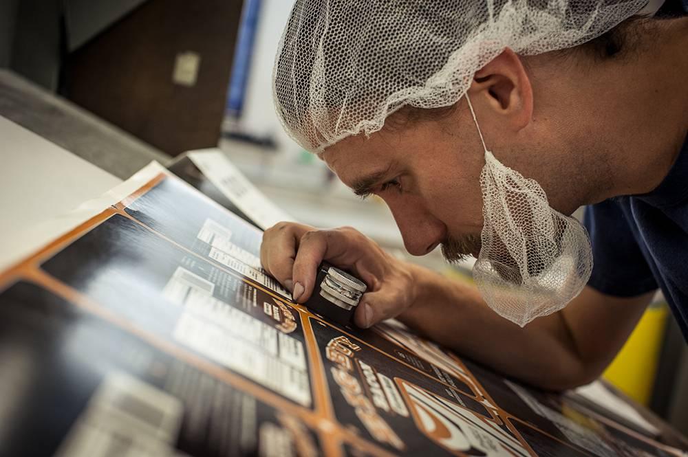 کنترل کیفیت بسته بندی محصولات