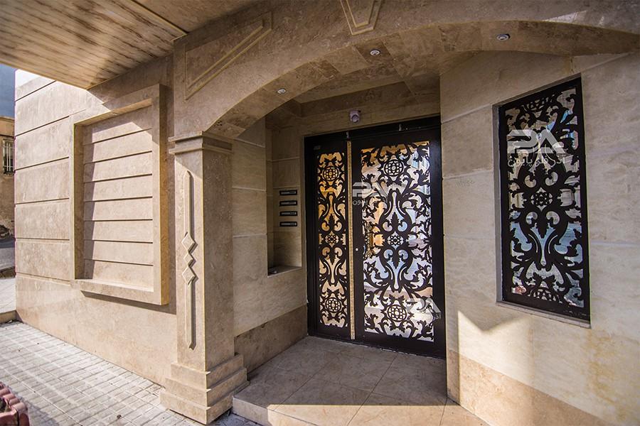 هارمونی درب ساختمان؛ تلفیق هنر، صنعت و معماری