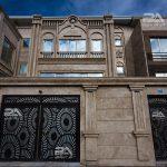 هماهنگی درب ورودی ساختمان با هارمونی نمای ساختمان