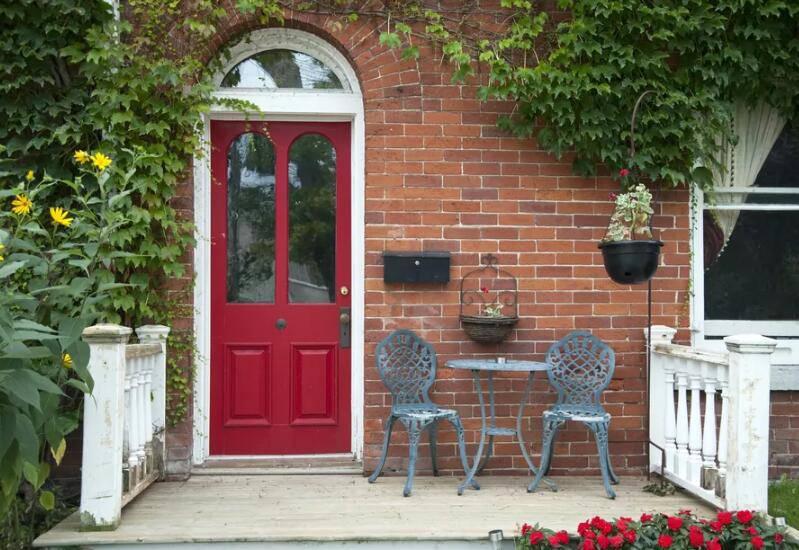 رنگ درب ورودی تان را با فنگ شویی انتخاب کنید