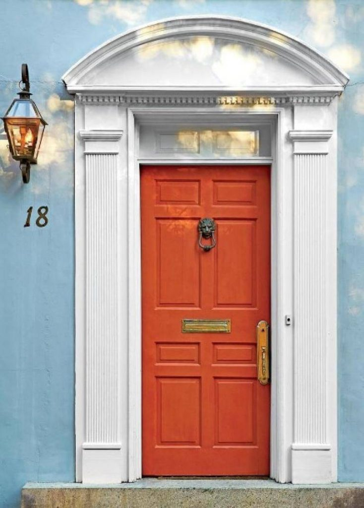 محبوب ترین رنگ ها برای درب ورودی ساختمان