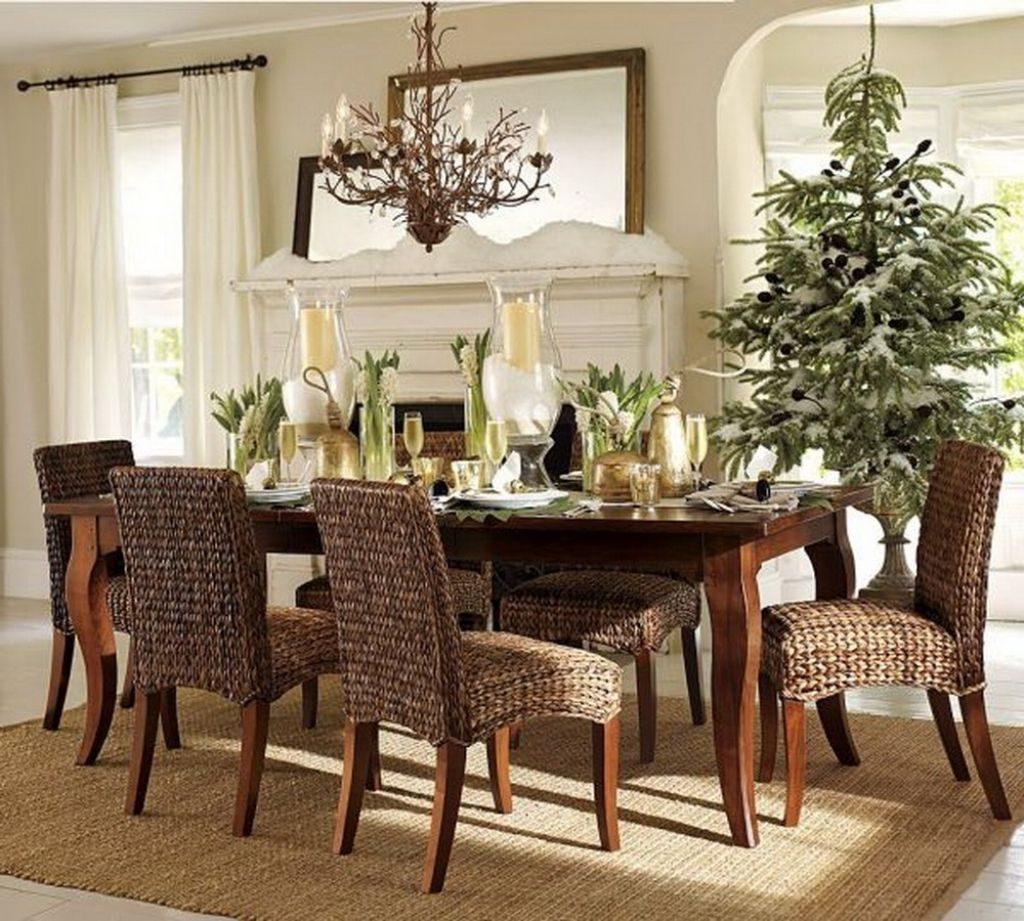 ایده های جذاب برای دکوراسیون میز ناهارخوری - میز ناهارخوری چوبی