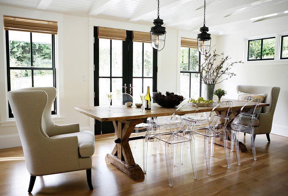 ایده های جذاب برای دکوراسیون - میز ناهارخوری