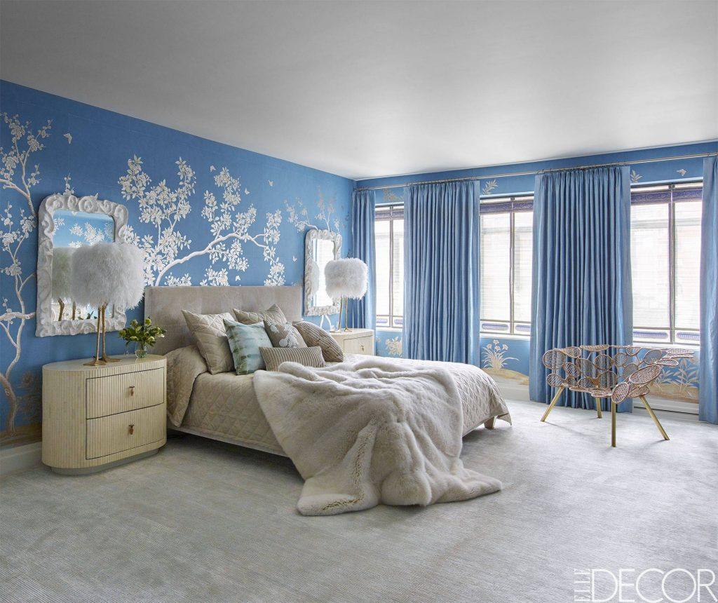 رنگ آبی در دکوراسیون منزل به نشان صلح طلبی است