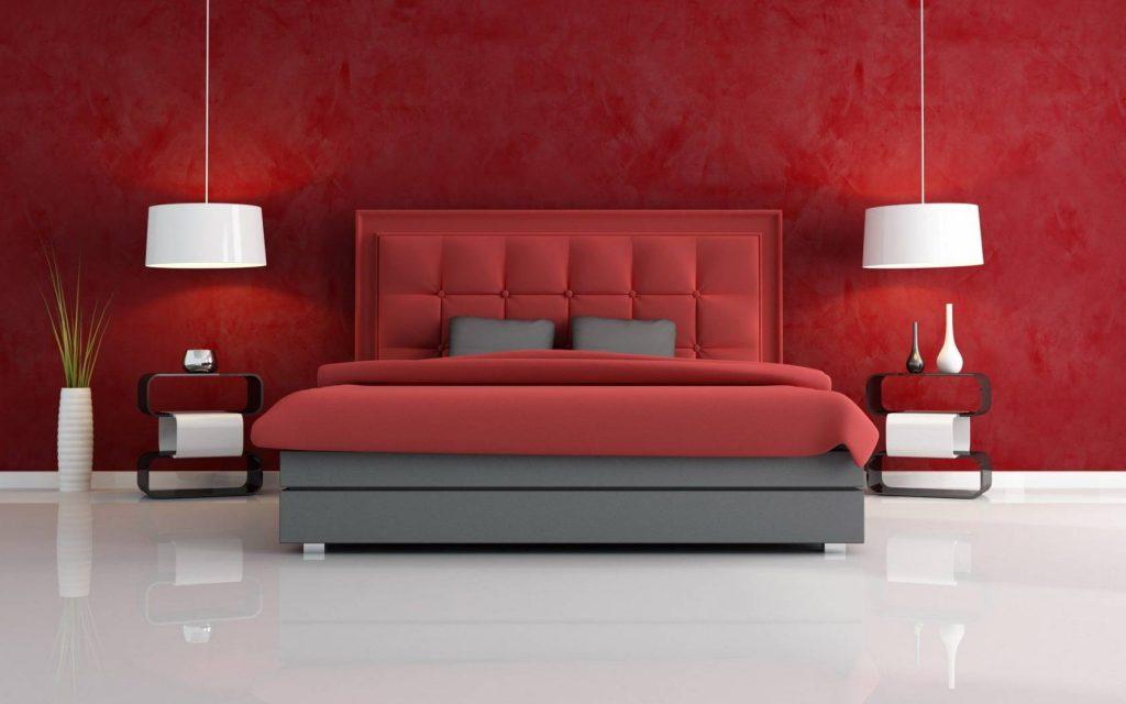 رنگ قرمز در دکوراسیون منزل باعث تهییج و تحریک میشود