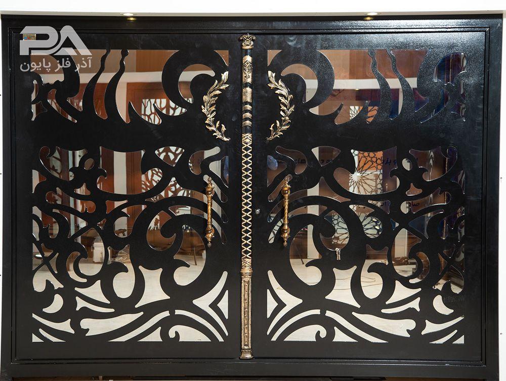 نمونه مدل شیک و جذاب از درب ورودی باغ و ویلا