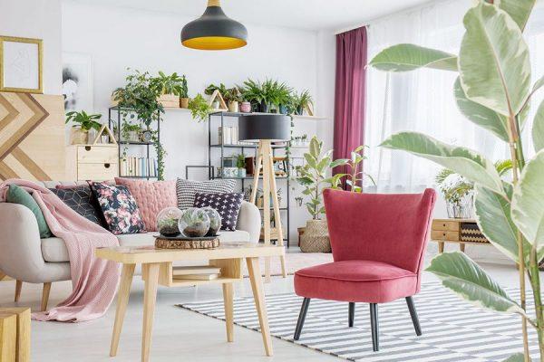 دکوراسیون و چیدمان خلاقانه منزل با حال و هوای بهاری