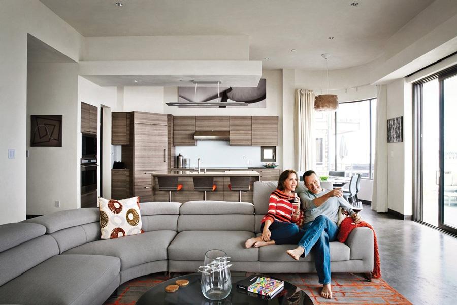 خانه زیبا و سازگار با محیط زیستی برایان کرانستون