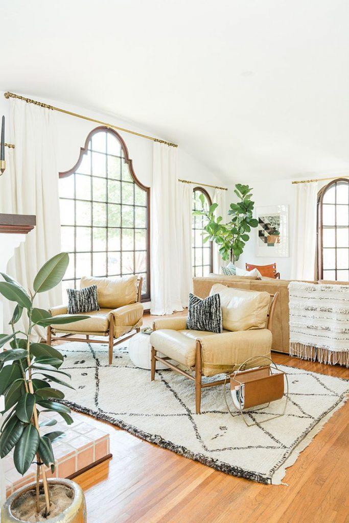 استفاده از رنگ سفید در فضای داخلی منزل