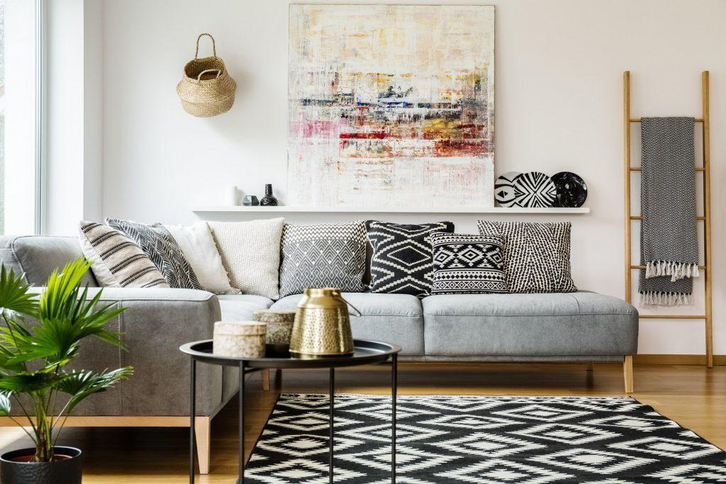 طراحی اتاق نشیمن بر اساس فنگ شویی
