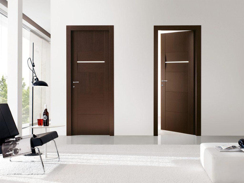 درب های ساختمانی چوبی برای محیط داخل آپارتمان