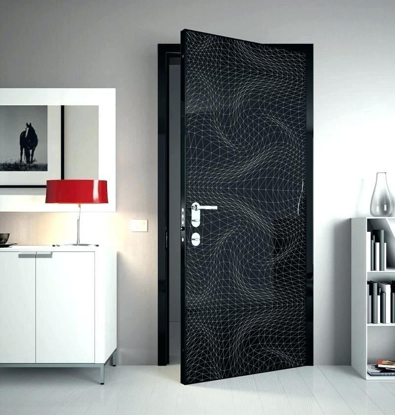 درب های ساختمانی چوبی با طرح های گرافیکی