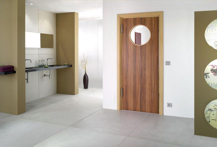 درب های ساختمانی چوبی ساخته شده از پنل های یکپارچه