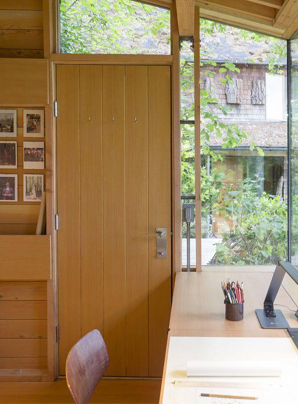 انواع درب چوبی ساختمان