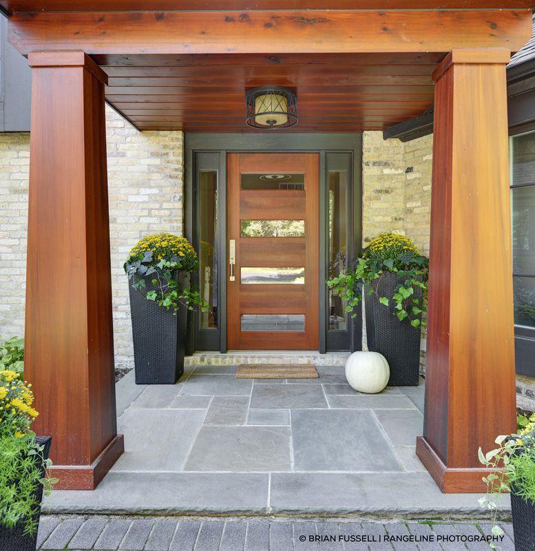 مدل درب چوبی ورودی ساختمان