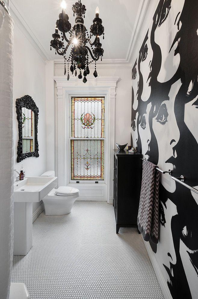 مدل کاشی طرح دار حمام