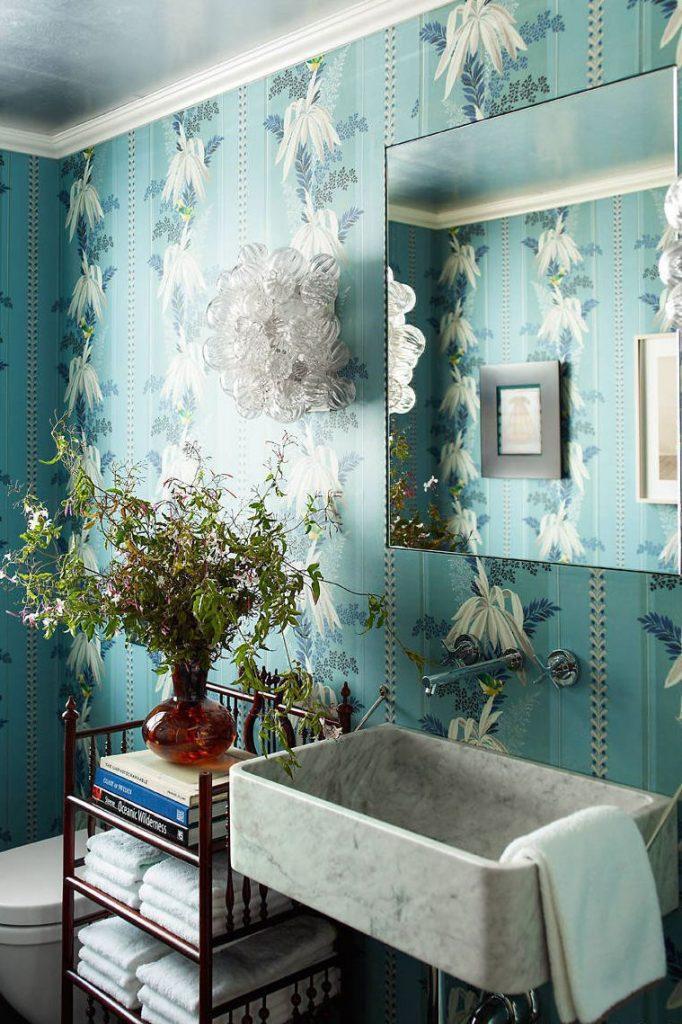 مدل جذاب و زیبای دکوراسیون حمام، سرامیک، کف و دیوار