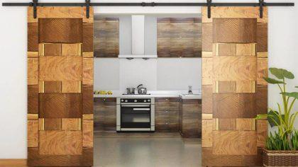 20 مدل درب کشویی مدرن و مزایای استفاده در ساختمانها
