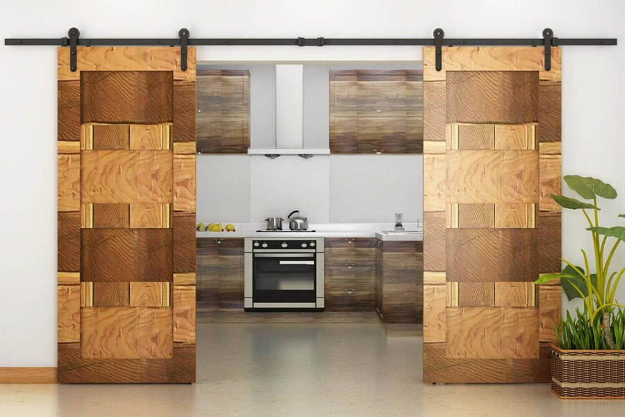 ۲۰ مدل درب کشویی و مزایای استفاده از آنها در ساختمان