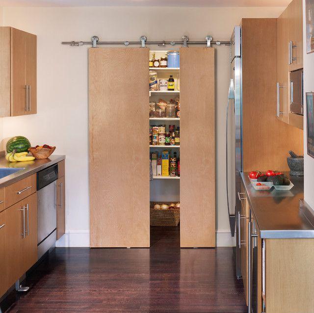 مدل درب کشویی و یا ریلی ساختمان