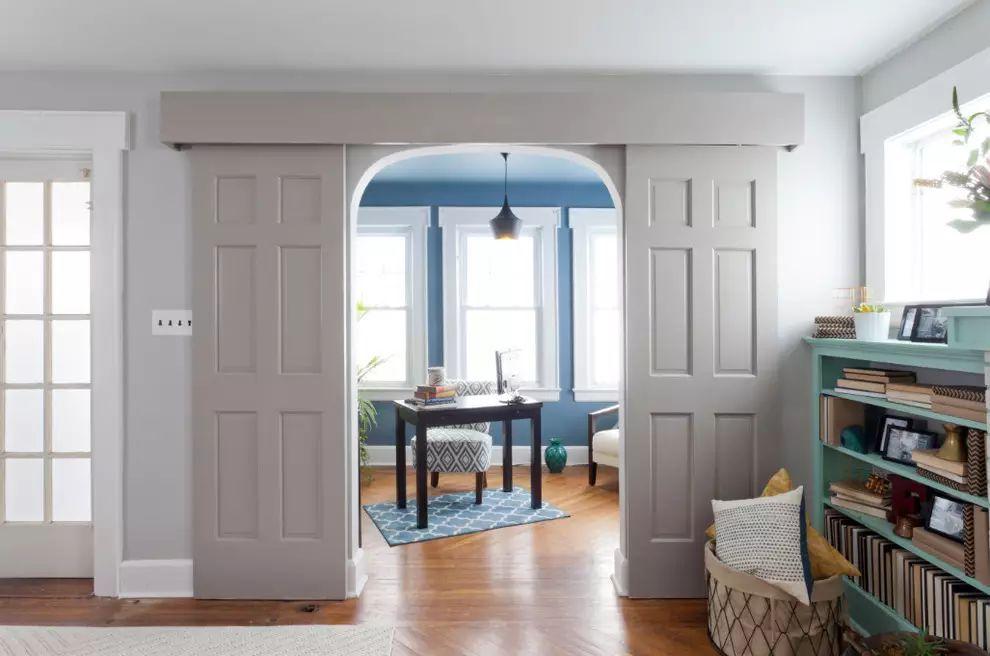 مدل درب ریلی آپارتمانی