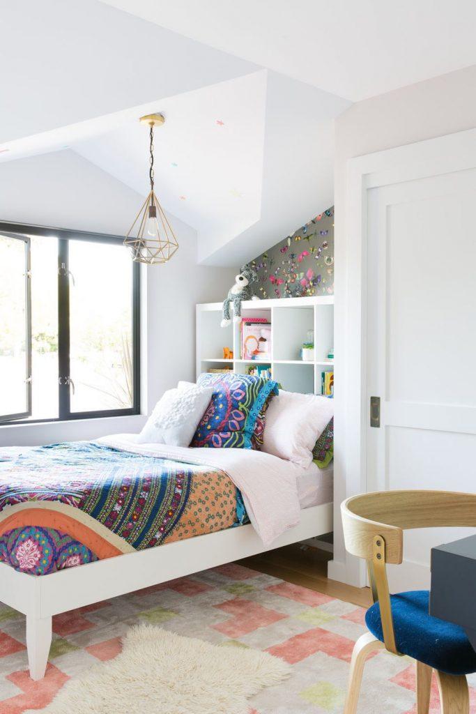 تصویری فوق توسط ریاگان بیکر برای اتاق یک نوجوان طراحی شده است