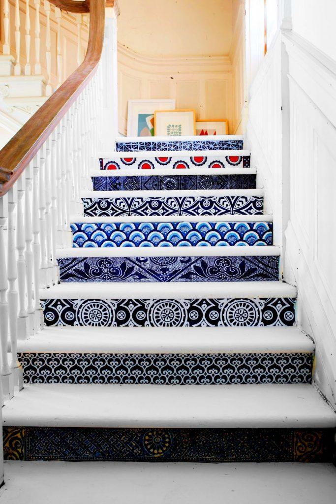 تزیین پله های جذاب و زیبا در دکوراسیون منزل