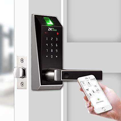 قفل ضد سرقت بر اساس اطلاعات اثر انگشت