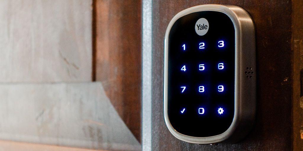 قفل ضد سرقت بر اساس ورود کدهای عددی