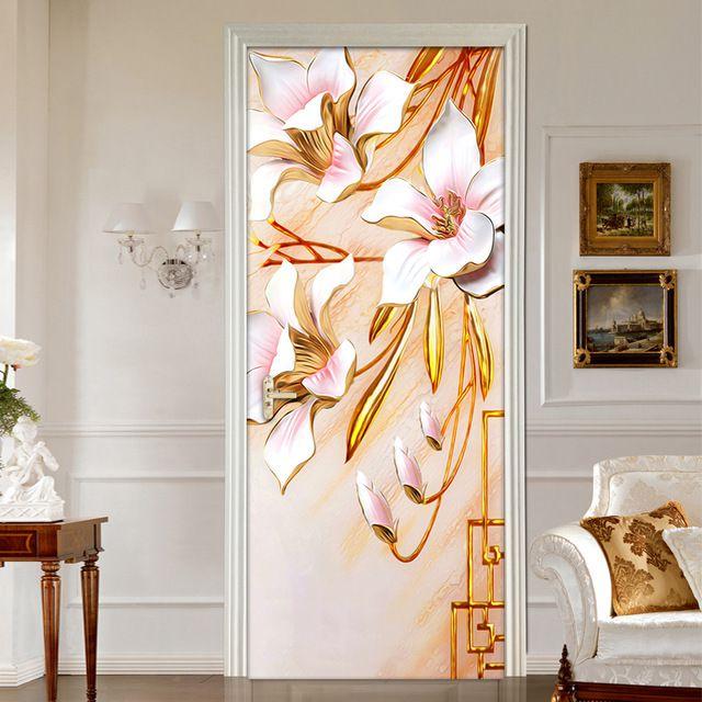 پوسترهای سه بعدی برای نو ساختن درب های خانه