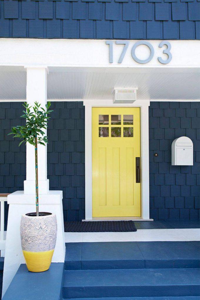 درب چوبی ورودی آپارتمان ها و ساختمان