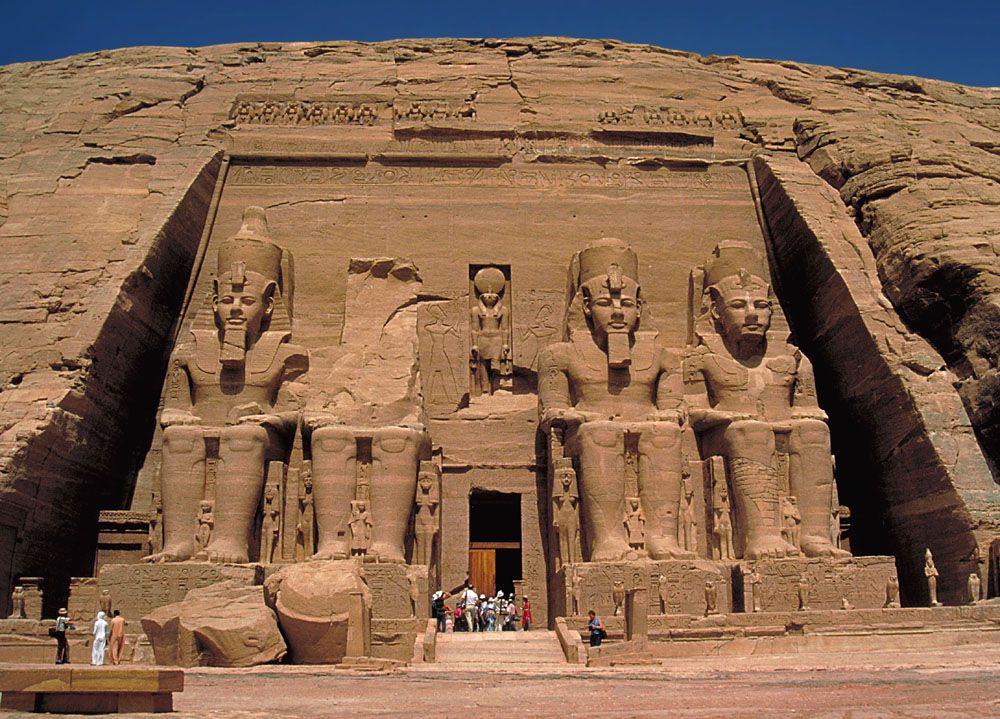 معماری های شگفت انگیز در جهان باستان