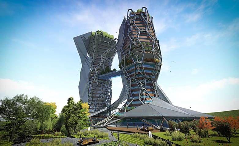 معماری های شگفت انگیز در جهان مدرن