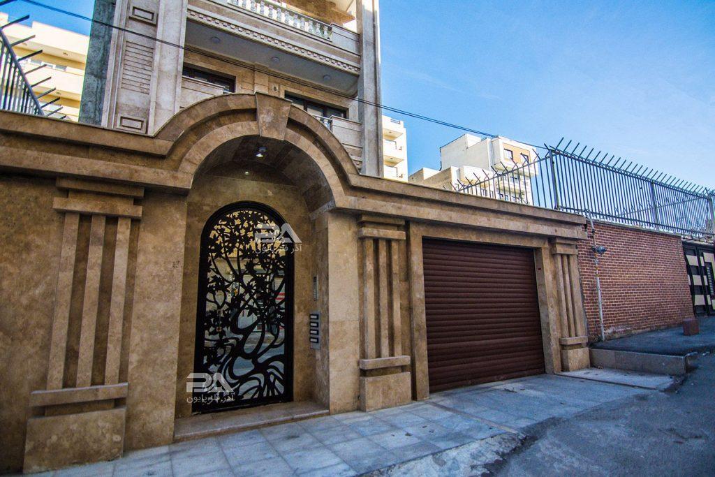 درب فلزی ساختمان