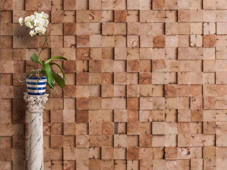 ایده های جذاب برای دیوارپوش های ساختمان با استفاده از چوب