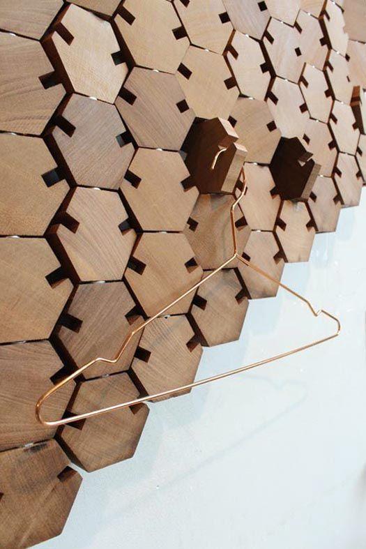مدل دیوارپوش جدید چوبی