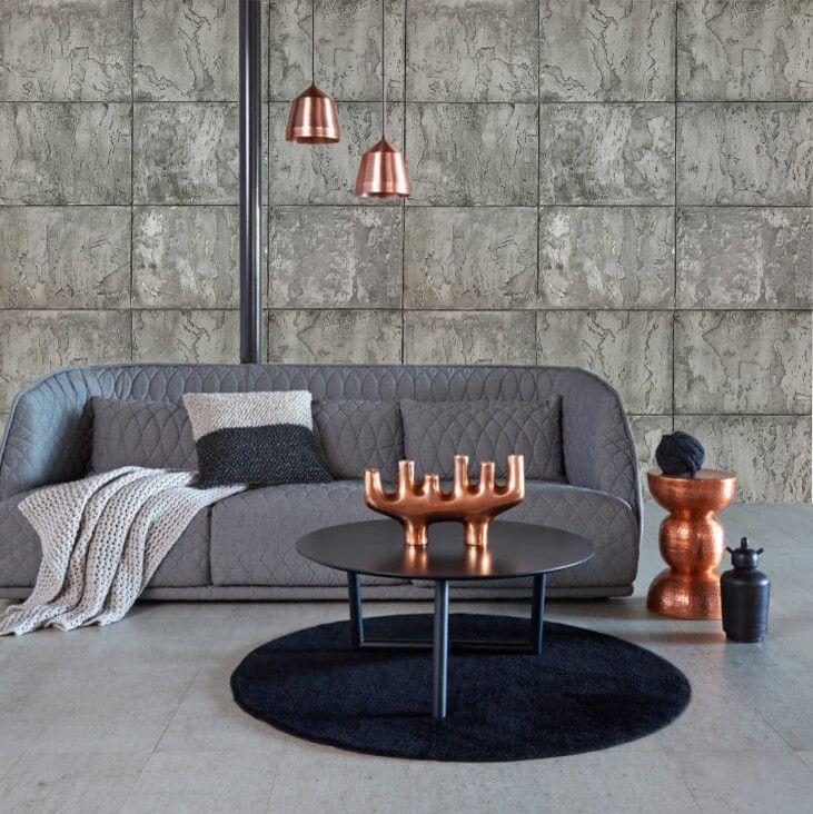 ایده های جذاب برای دیوارپوش های ساختمان با استفاده از بافت چوب پنبه ای