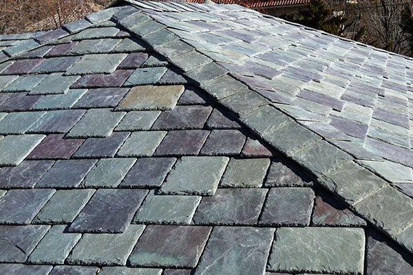 سقف های ساخته شده از تخته سنگ