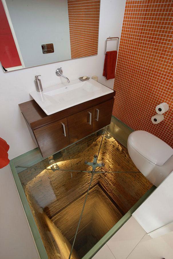 استفاده از شیشه در مکان های مخلف خانه