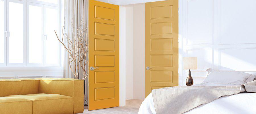 انتخاب رنگ درب و چهارچوب، متناسب با مکان
